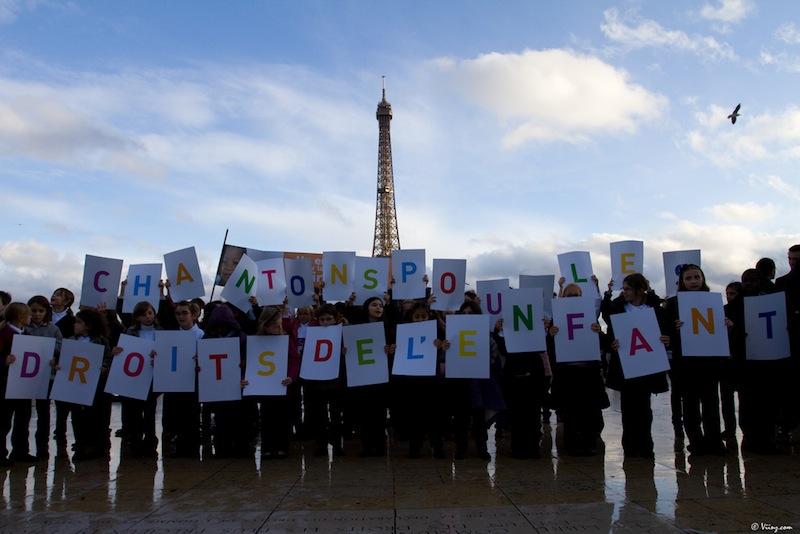 Flashmob pour les Droits de l'Enfant – c'était dimanche !