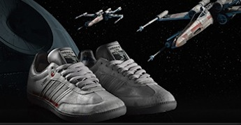 adidas lance ses séries Star Wars (enfin ça fait un moment déjà)