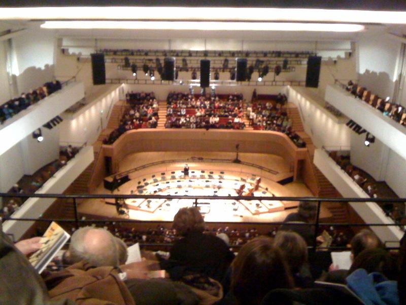 Salle Pleyel – concert anniversaire de Christophe Eschenbach