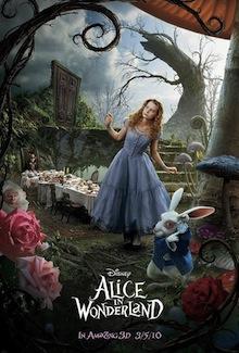 Alice au Pays des Merveilles – un Disney, certainement pas un Burton