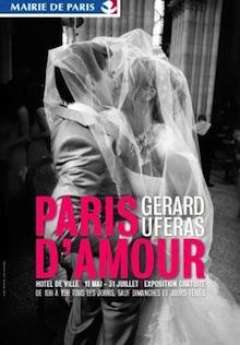 Paris d'Amour de Gérard Uféras à la Mairie de Paris