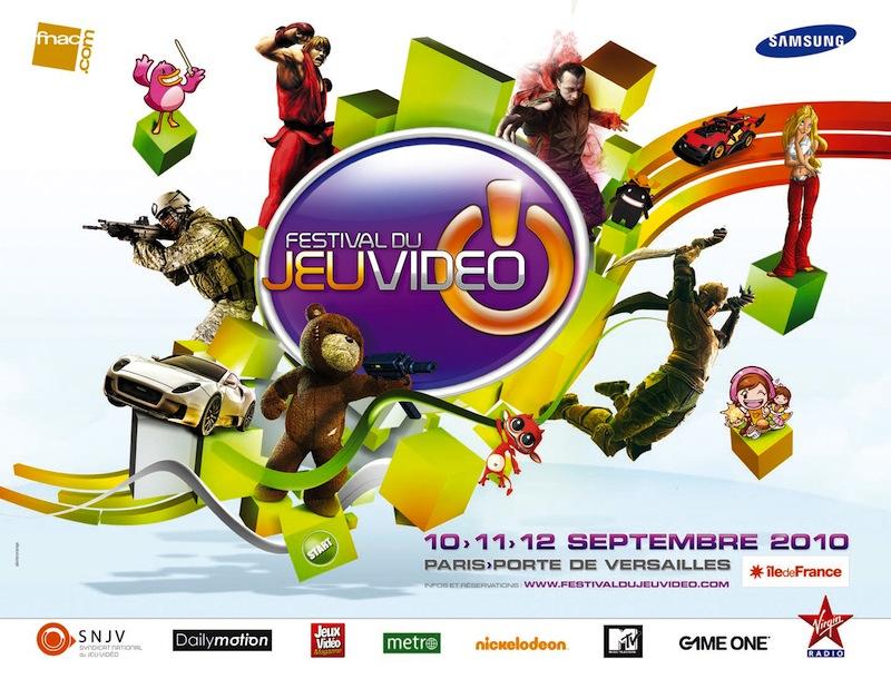 Festival du jeu vidéo 2010 – 5 places à gagner !