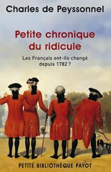 Petite chronique du ridicule – Charles de Peyssonnel