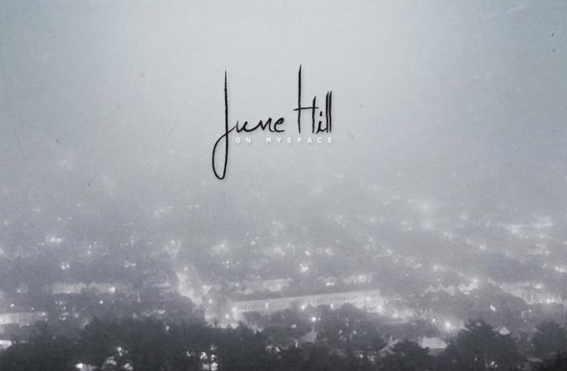 Coup de projo – June Hill en concert la semaine prochaine