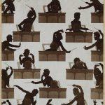 Otto Böhler Silhouettes de Gustav Mahler dirigeant, vers 1910 Reproduction photographique, R. Lechner, Vienne Vienne, Gesellschaft der Musikfreunde in Wien. Archiv, Bibliothek und Sammlungen © Gesellschaft der Musikfreunde in Wien. Archiv, Bibliothek und Sammlungen