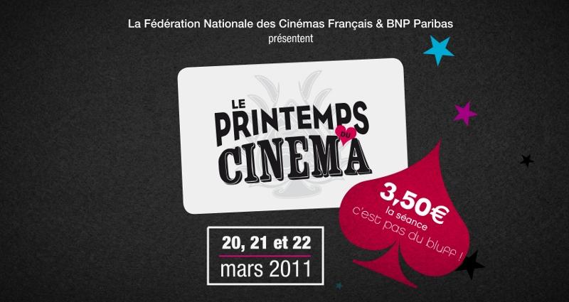 BNP Paribas & Le Printemps du Cinéma, c'est PLEIN de places pour vous !