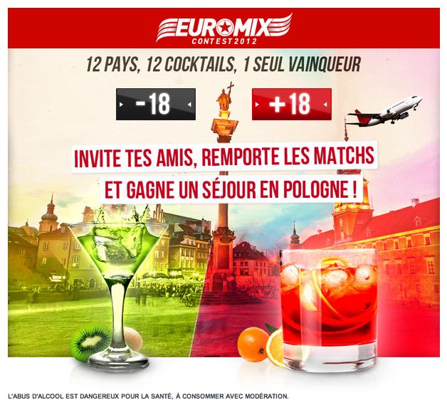 Euromix Contest 2012 : la France, VOTEZ POUR ELLE !