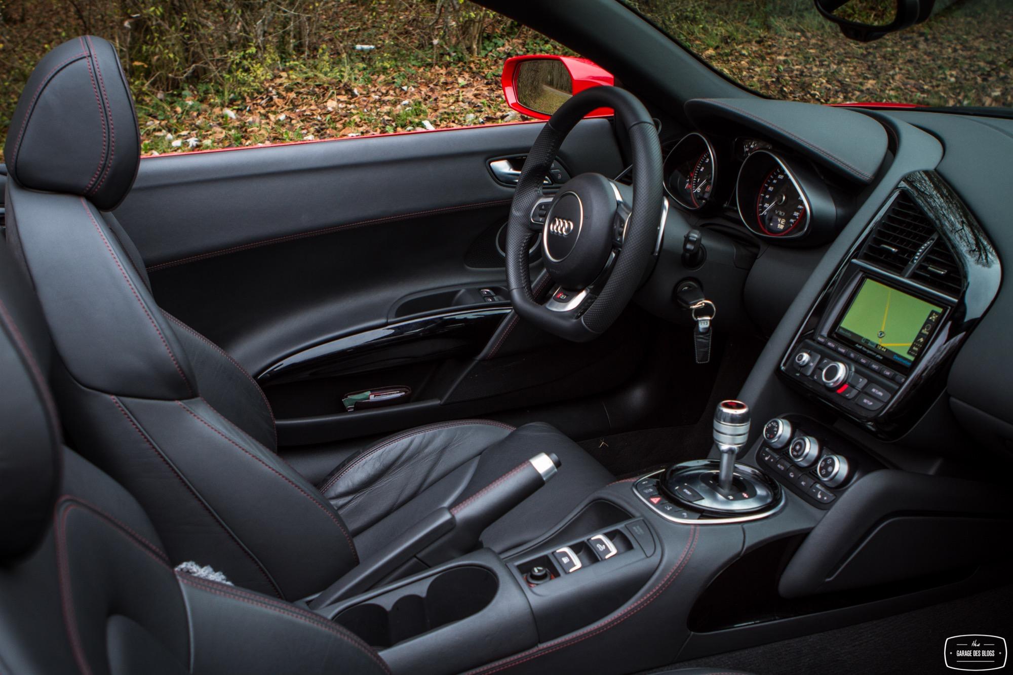 L Audi R8 V10 Spyder Essai Photos Et Vid 233 O