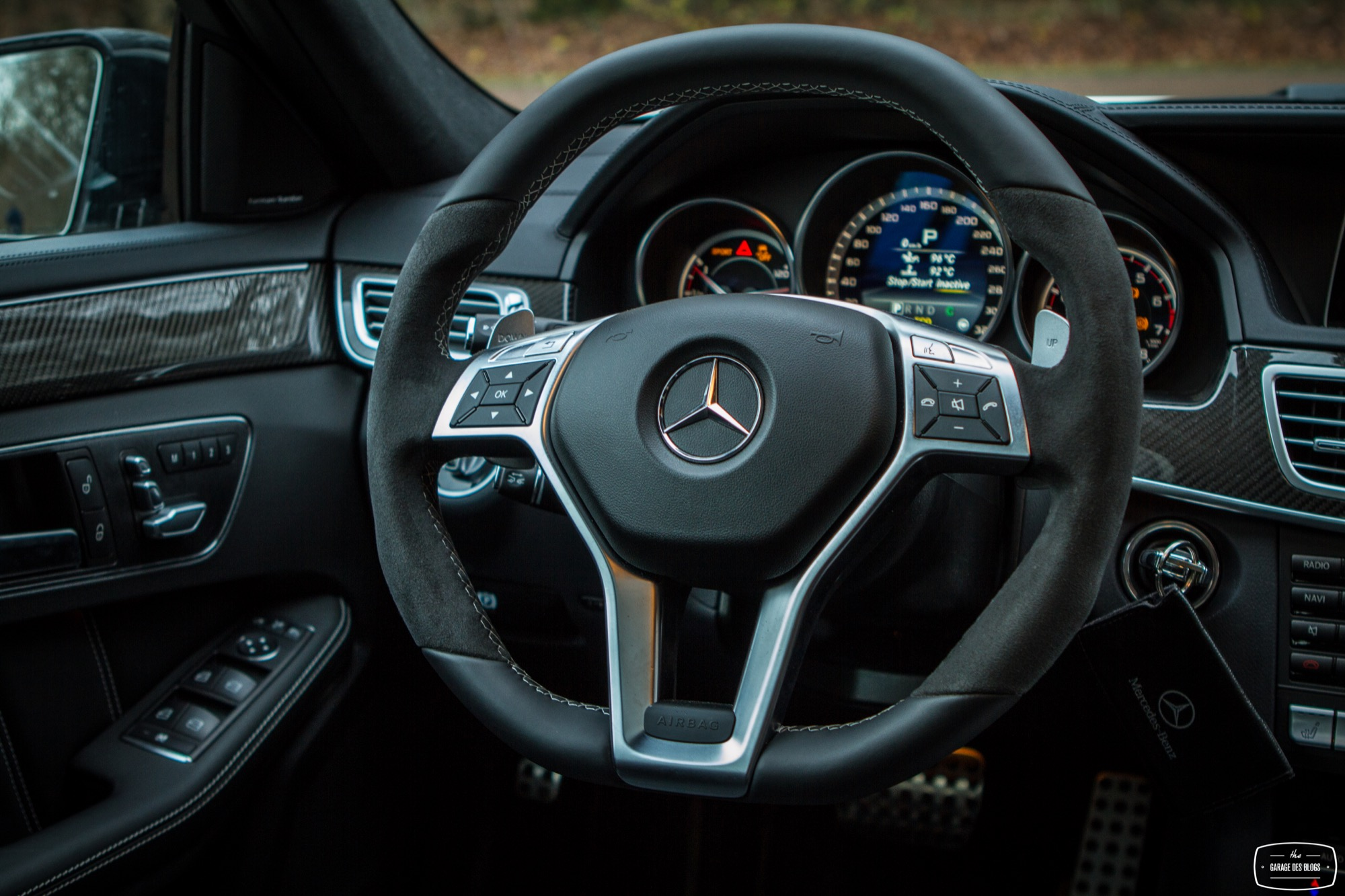 La mercedes benz e 63 amg s 4matic break l 39 essai for Mercedes e interieur