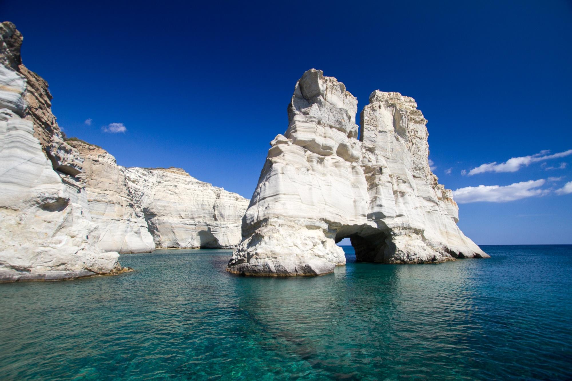 Vacances Grece Cyclades Milos