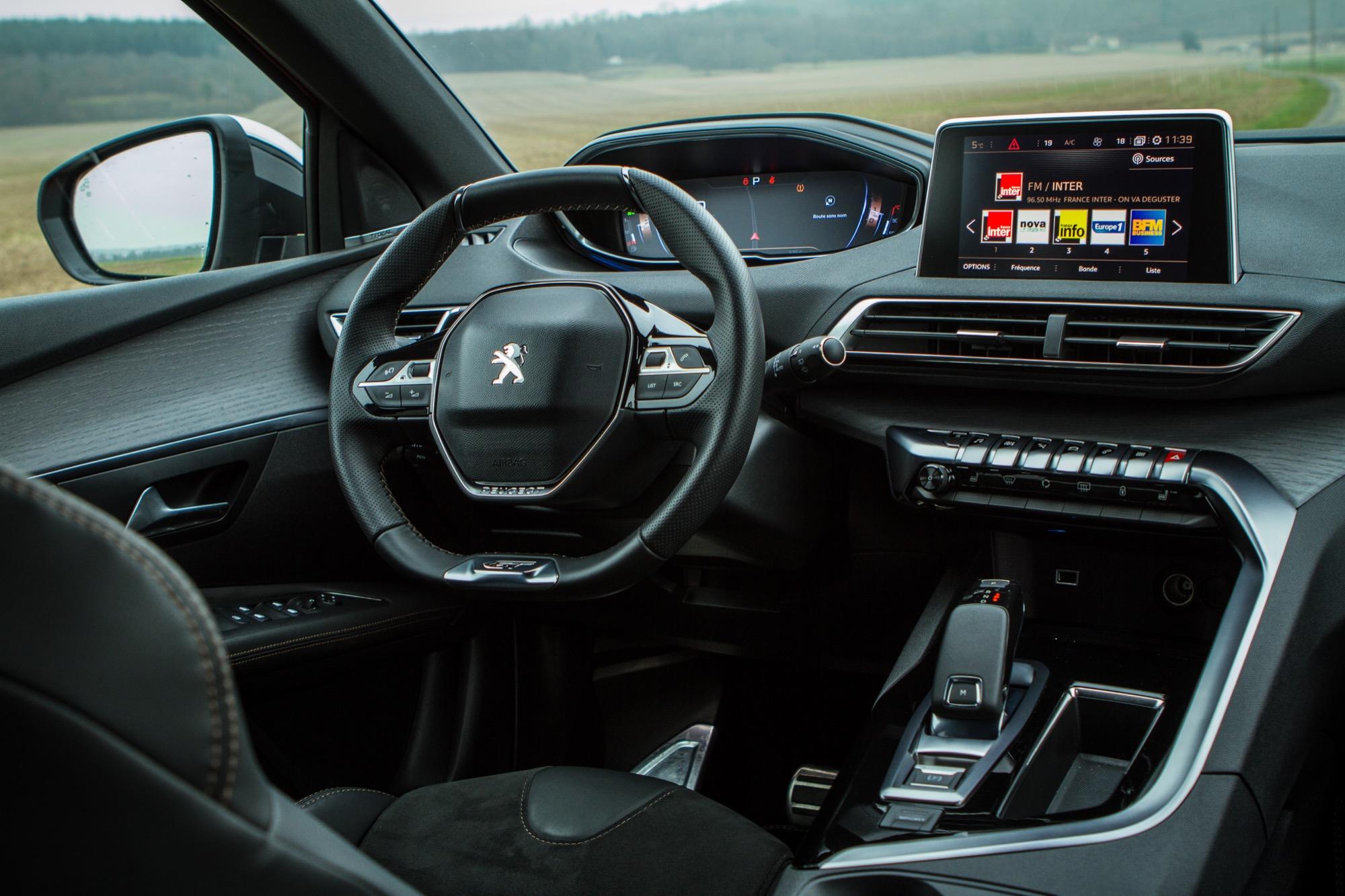 Peugeot 3008 gt essai de la nouvelle version du best for Peugeot 3008 gt interieur